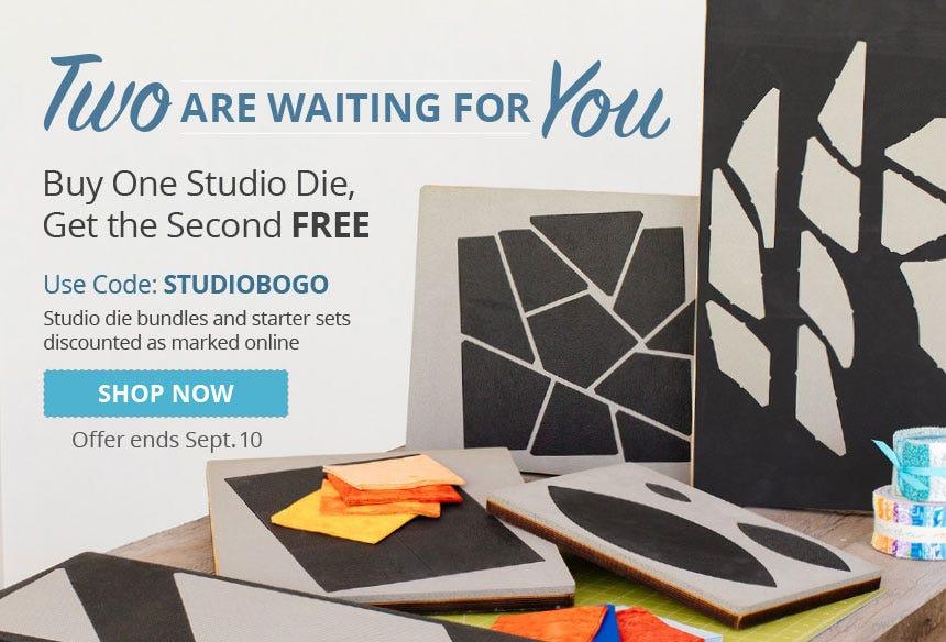 Buy One Studio Die, Get the Second Free