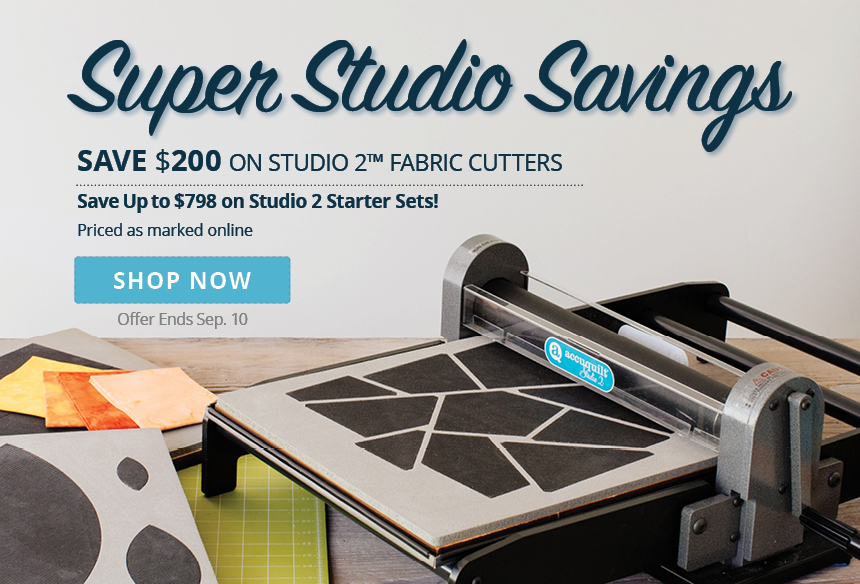 $200 Off Studio 2 Fabric Cutter