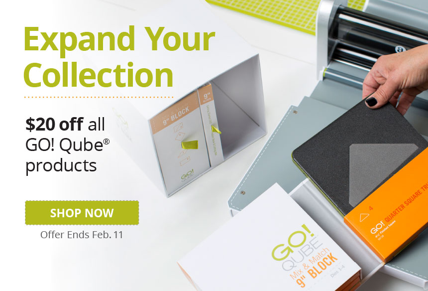 Save $20 on all GO! Qube products