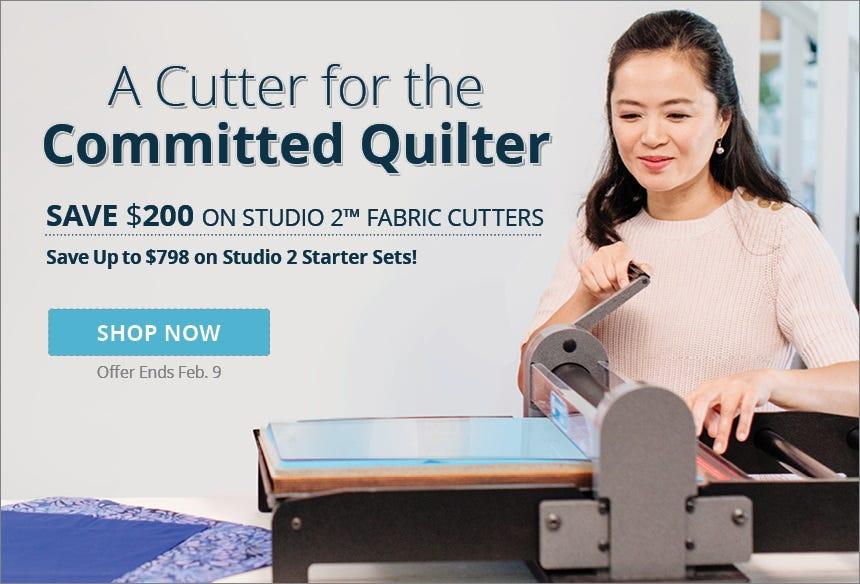 $200 Off Studio 2 Fabric Cutter