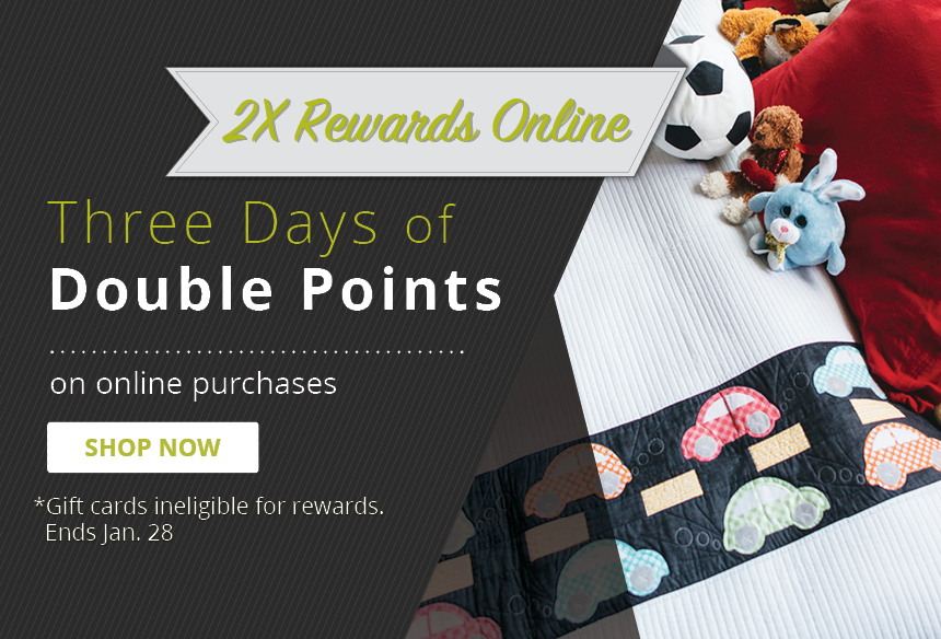 Earn Double Rewards on Online Purchases
