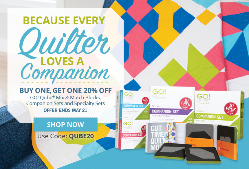 Buy One, Get One 20% Off GO! Qube products