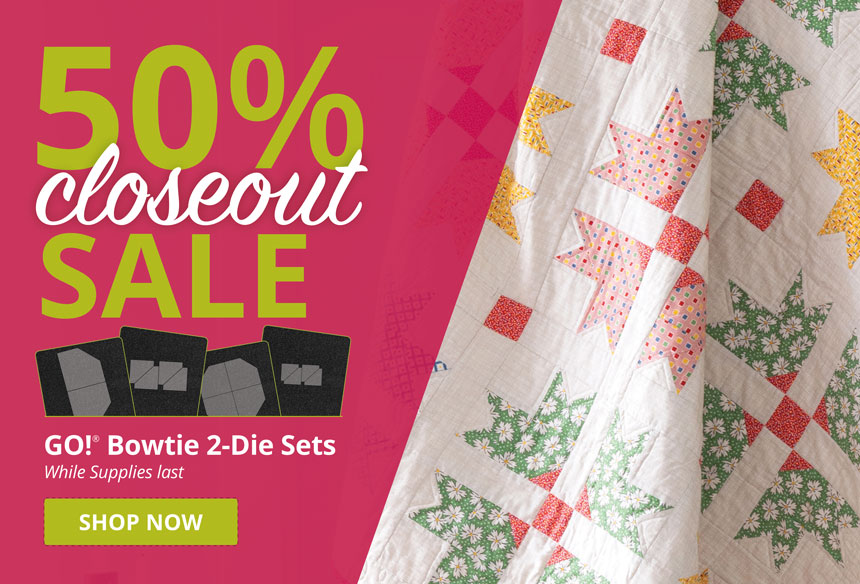 50% Off 2-Die Bowtie Sets While Supplies Last