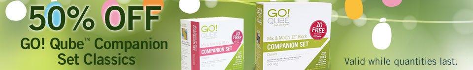 AccuQuilt GO! Qube Companion Sets Sale
