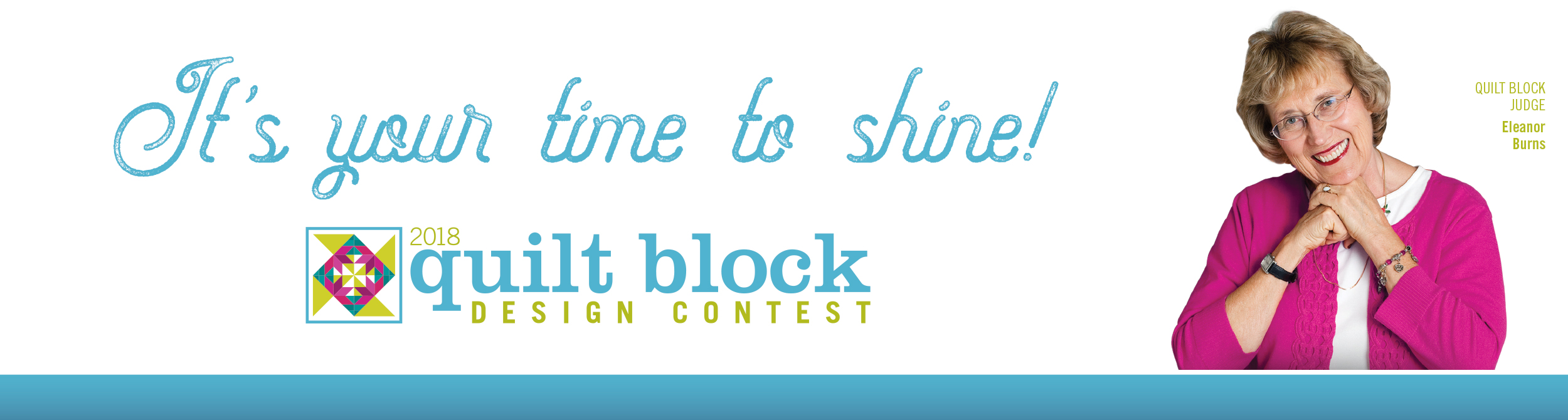 2018 Quilt Block Design Contest
