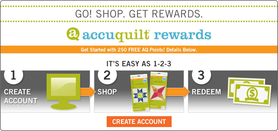 AccuQuilt Rewards